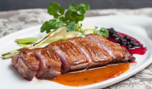 Tal-Familja Restaurant - Duck Breast Orange Sauce